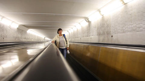 Escalator 4 Stock Video Footage