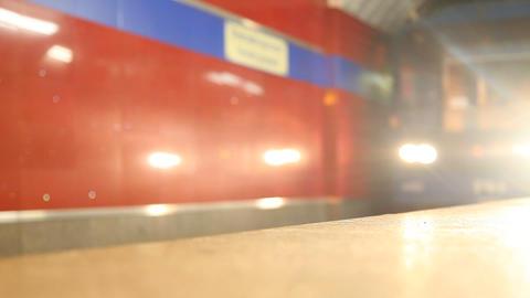 Metro 1 stock footage