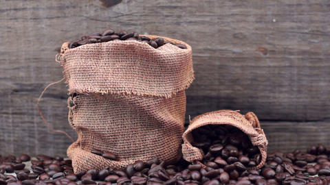 Coffee Beans Stock Video Footage