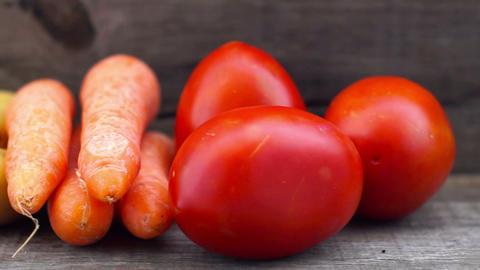 Various Vegetables Stock Video Footage