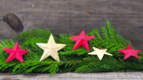 Christmas Decoration Footage
