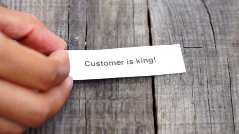 Customer is King Footage