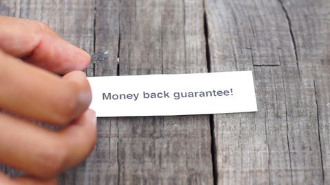 Money Back Guarantee Footage