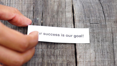 Your Success is our goal Footage
