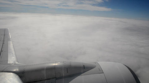 View from airplane Stock Video Footage