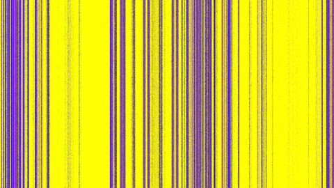 Vertical Magenta Purple Lines on Yellow Footage