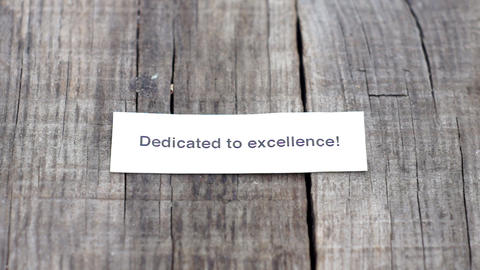 Dedicated Excellence Stock Video Footage