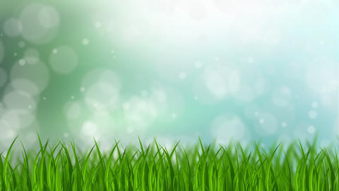 Grass Background Animation