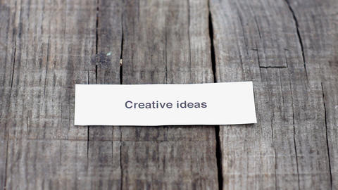Creative Ideas Stock Video Footage