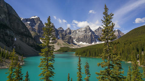 Moraine Lake, Time Lapse Footage