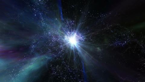 Star Warp 02 Stock Video Footage
