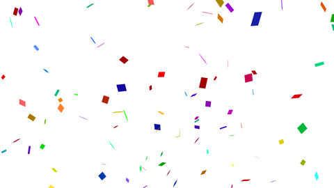 Confetti 002 stock footage