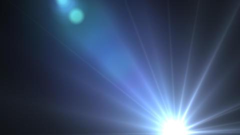 Lens flare A Animation