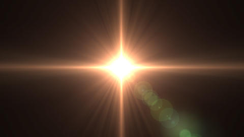 Lens flare F Animation