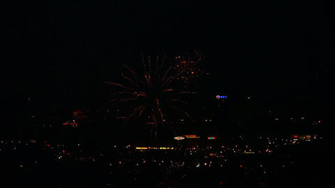 Fireworks stock footage