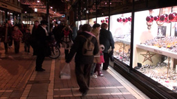 Christmas Shopping 1 Stock Video Footage