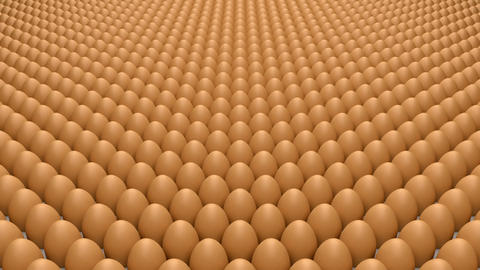 Eggs stock footage