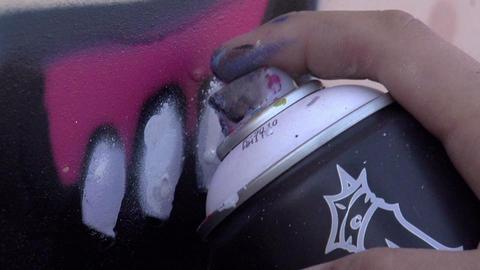 Graffiti HD Stock Video Footage