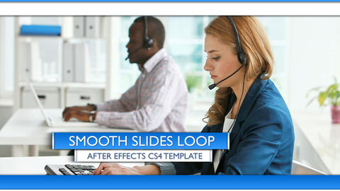 Smooth Slides Loop - After Effects Template After Effects Template