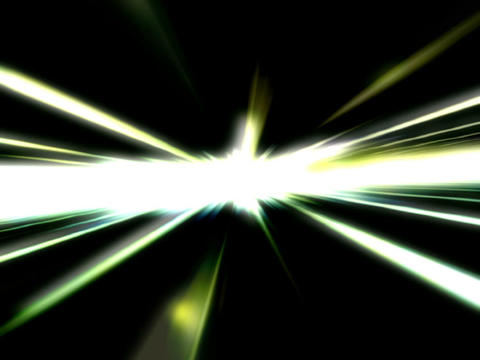 Glowing Light Beams #1 stock footage