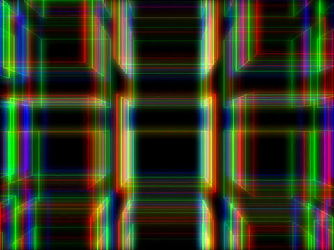 RGB Cubes #1 Stock Video Footage