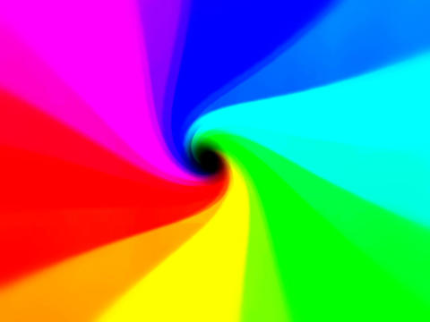 Rainbow Vortex #2 Animation