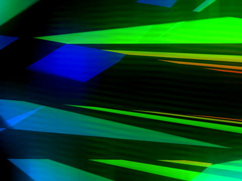 3D Multicolored Streaks #2 Stock Video Footage