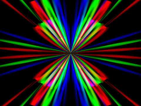 RGB Symmetry #1 Stock Video Footage