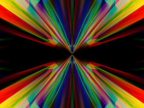 RGB Symmetry #3 Stock Video Footage