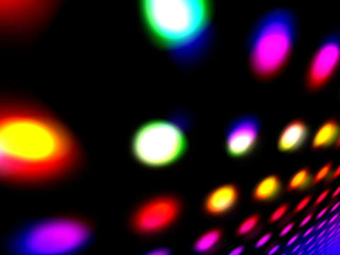 Colorful Flashing Space #2 Animation