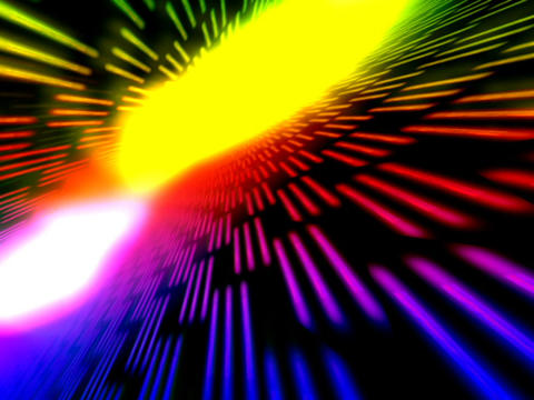 Colorful Flashing Space #4 stock footage