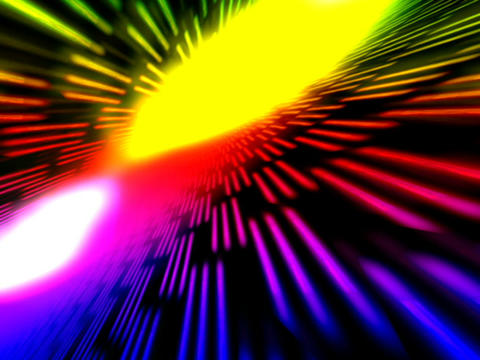 Colorful Flashing Space #4 Animation