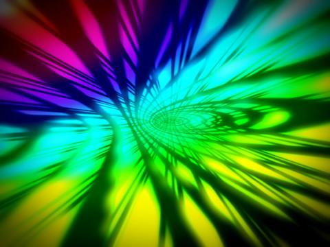 Rainbow Space #2 Stock Video Footage