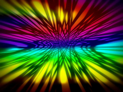 Rainbow Space #2 Stock Video Footage