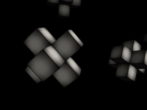 Floating Cubes #1 Animation