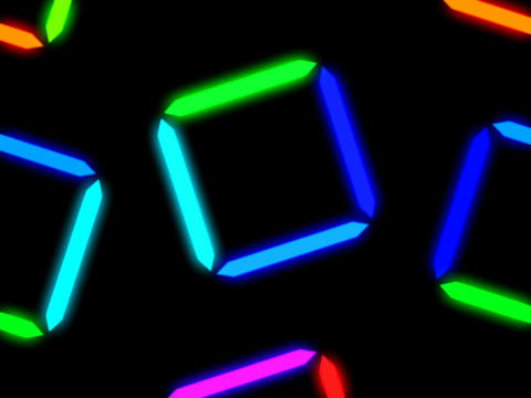 Colorful Square Pattern #2 Animation