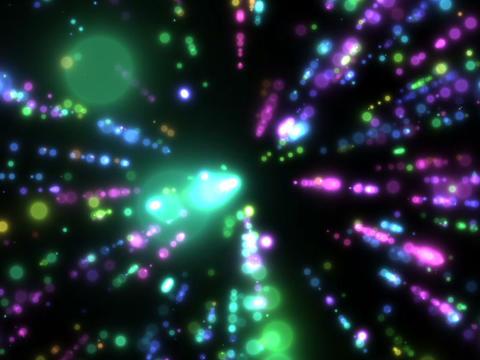 Rainbow Glitter #1 Stock Video Footage