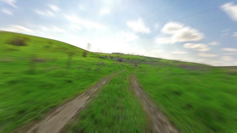 Ride On A Car stock footage