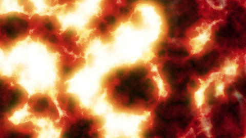 Lava Flowing. Clear. HD 1080. Looped Animation stock footage