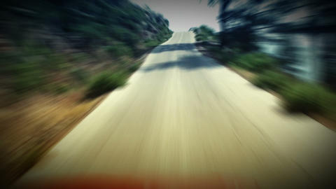 Time Lapse Road Driving. HD 1080. Looped animation Stock Video Footage