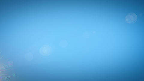 Sun moving across the clear blue sky. HD 1080 Stock Video Footage
