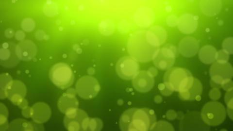 Green Bokeh Dot Background Stock Video Footage