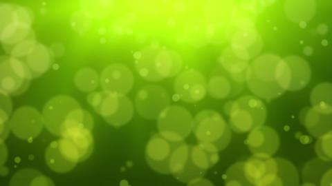 Green Bokeh Dot Background Stock Video Footage
