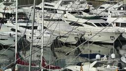 Alicante Spain 7 port Stock Video Footage