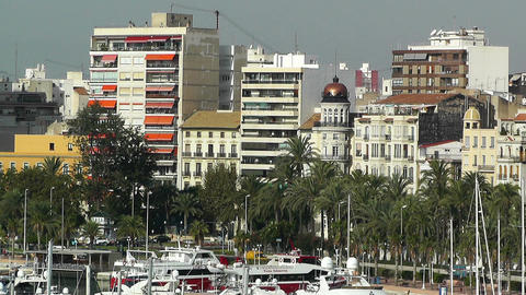 Alicante Spain 9 Stock Video Footage