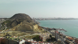 Alicante Spain 11 aerial Stock Video Footage