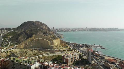 Alicante Spain 11 aerial Stock Video Footage