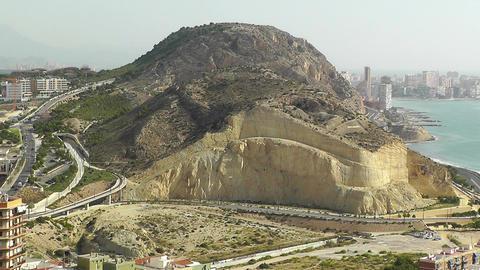 Alicante Spain 15 aerial Stock Video Footage