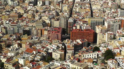 Alicante Spain 17 aerial Stock Video Footage