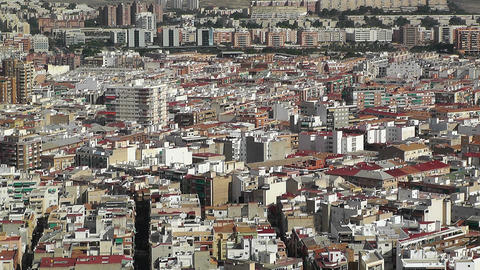 Alicante Spain 26 aerial Stock Video Footage